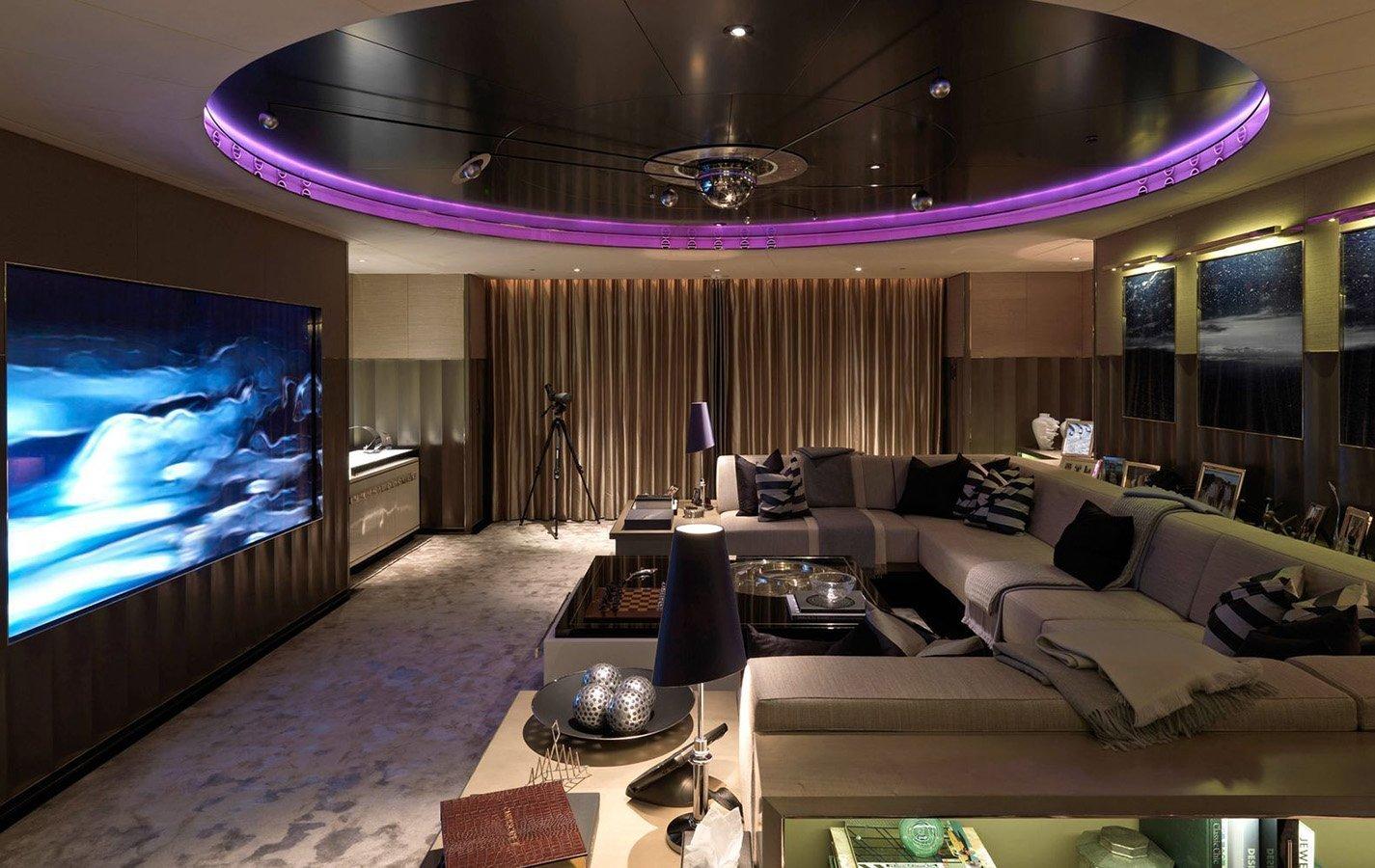 media room installation